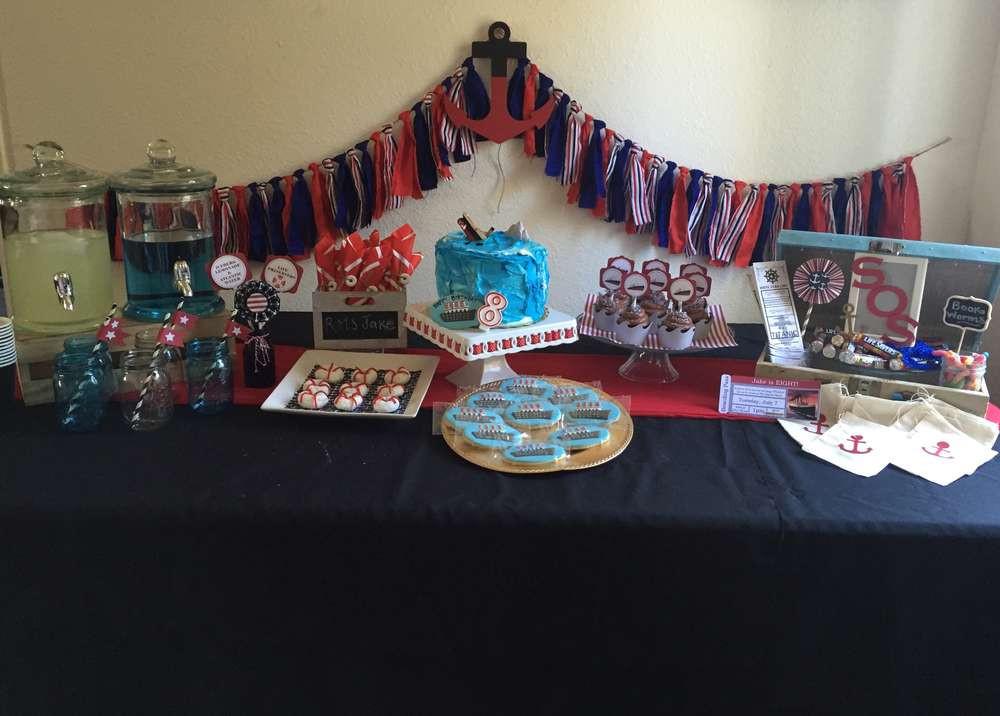 Titanic Birthday Party  Titanic Birthday Party Ideas 1 of 14