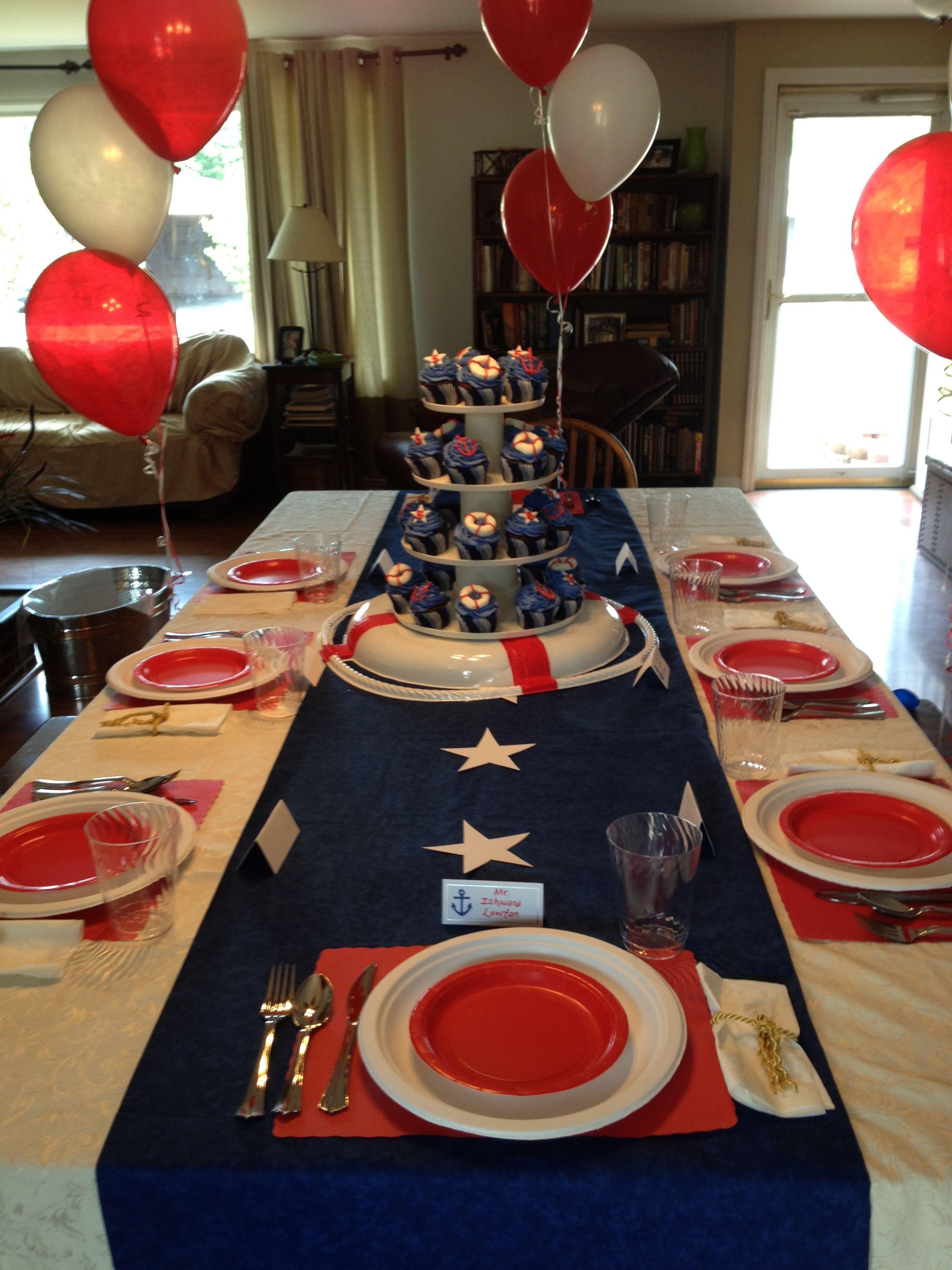 Titanic Birthday Party  Titanic Party Brittni Teter Creative Occasions