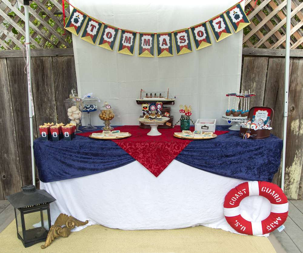 Titanic Birthday Party  Titanic Birthday Party Ideas 14 of 20