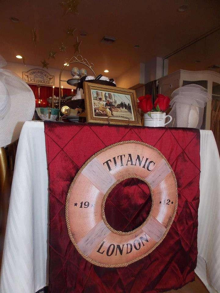 Titanic Birthday Party  Titanic Tea Party Party Ideas 9 of 12