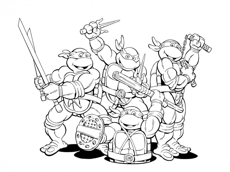 Tmnt Girls Coloring Pages  Ninja Turtle Coloring Pages AZ Coloring Pages