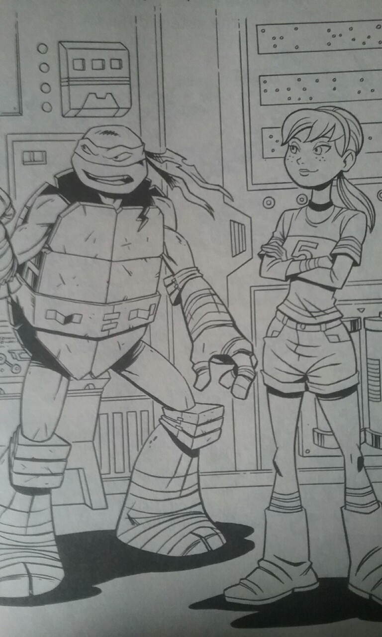 Tmnt Girls Coloring Pages  TMNT Raphril Coloring Page by NinjaTurtleFangirl on DeviantArt