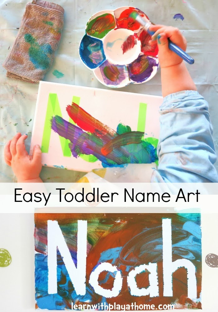 Toddler Artwork Ideas  Learn with Play at Home Paintsicles Frozen paint cubes