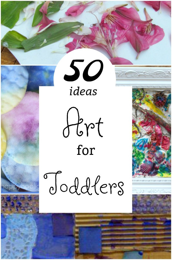 Toddler Artwork Ideas  50 PERFECT Crafts for 2 Year Olds How Wee Learn