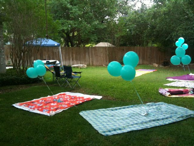 Toddler Backyard Birthday Party Ideas  great idea for outdoor kids party