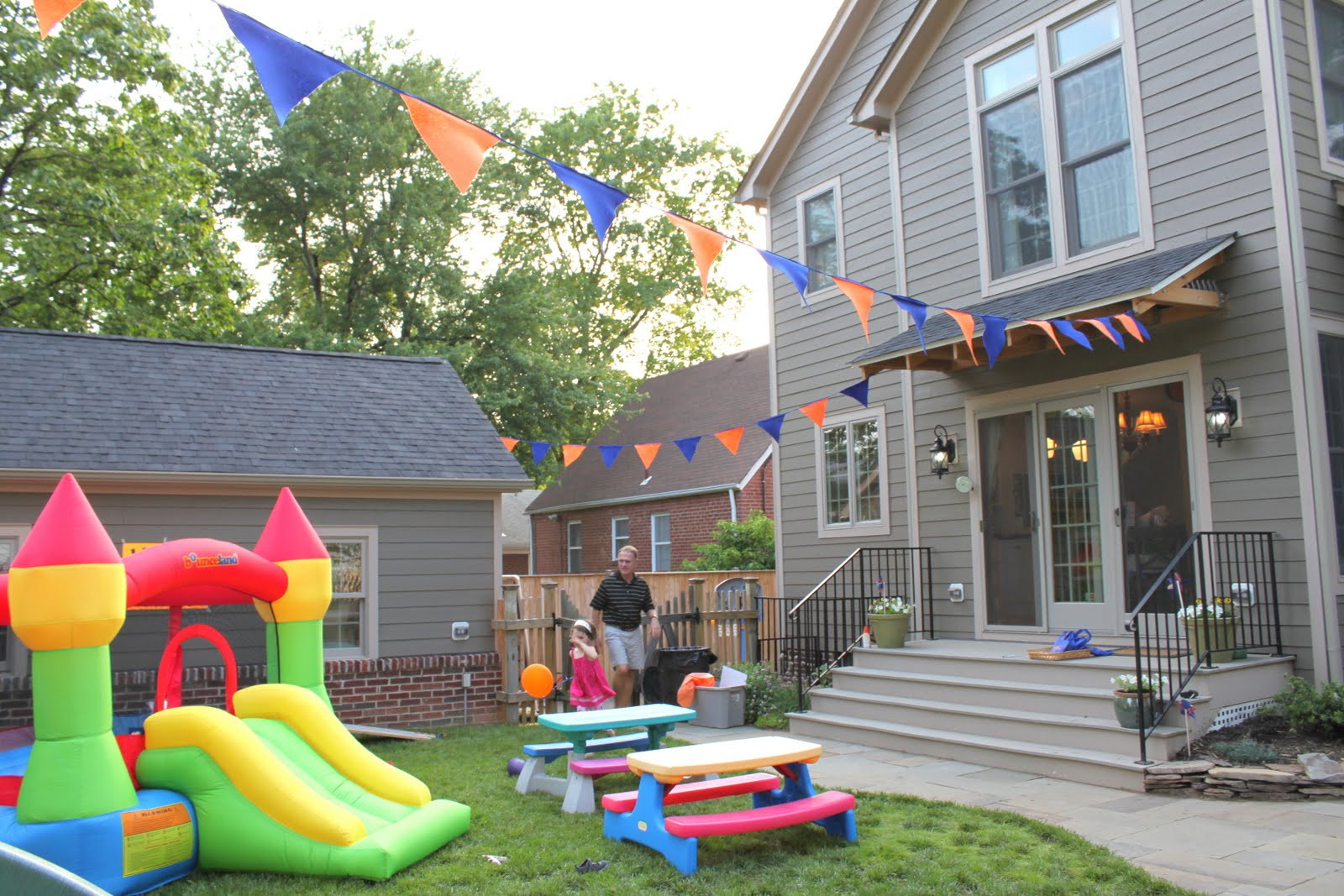 Toddler Backyard Birthday Party Ideas  HOUSEography May 2011