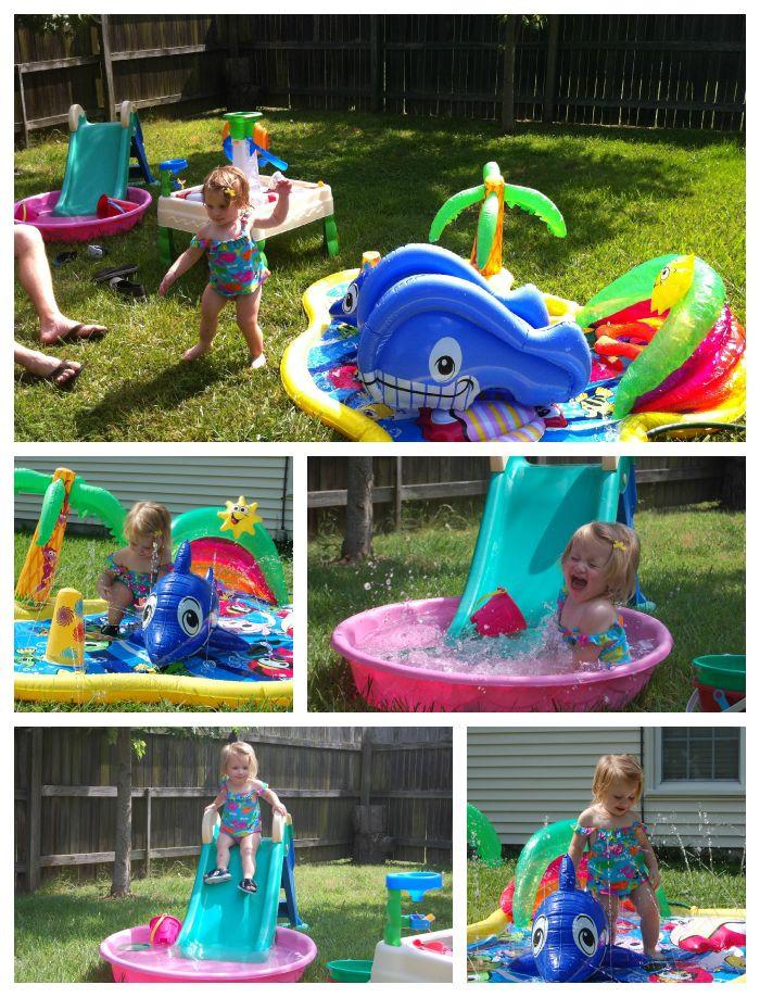 Toddler Backyard Birthday Party Ideas  Best 25 Backyard water fun ideas on Pinterest