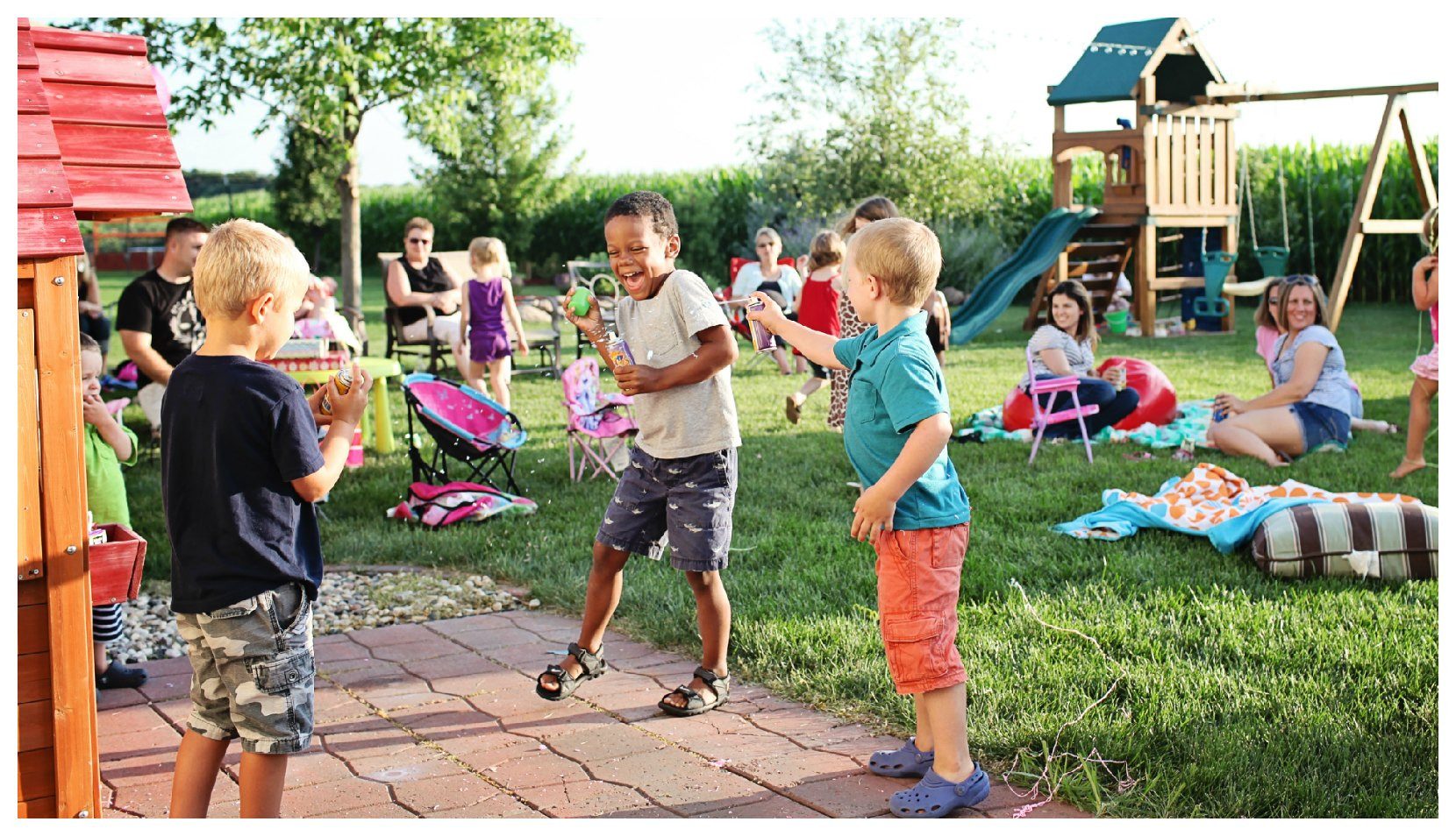Toddler Backyard Birthday Party Ideas  Confuse This Solo Outdoor Games For Kids Can Give You