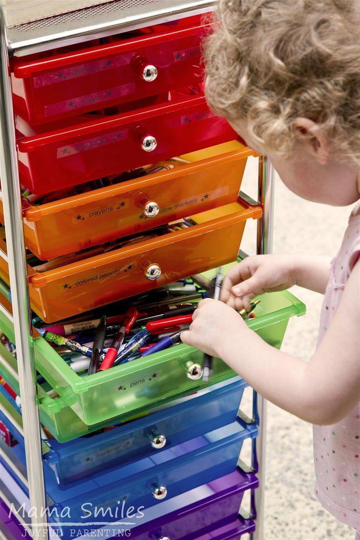 Toddler Craft Supplies  17 Best ideas about Kids Craft Storage on Pinterest