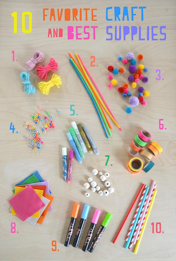 Toddler Craft Supplies  My 10 Favorite Craft Supplies for Kids ARTBAR