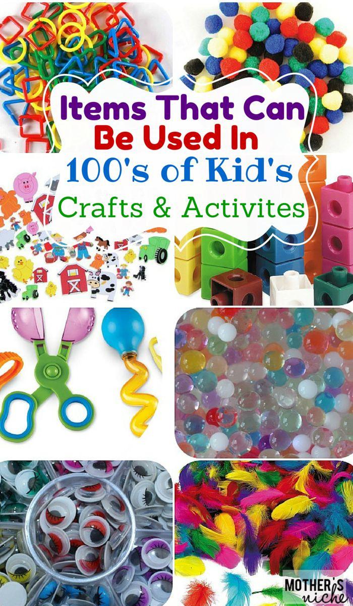 Toddler Craft Supplies  1000 ideas about Kid Crafts on Pinterest