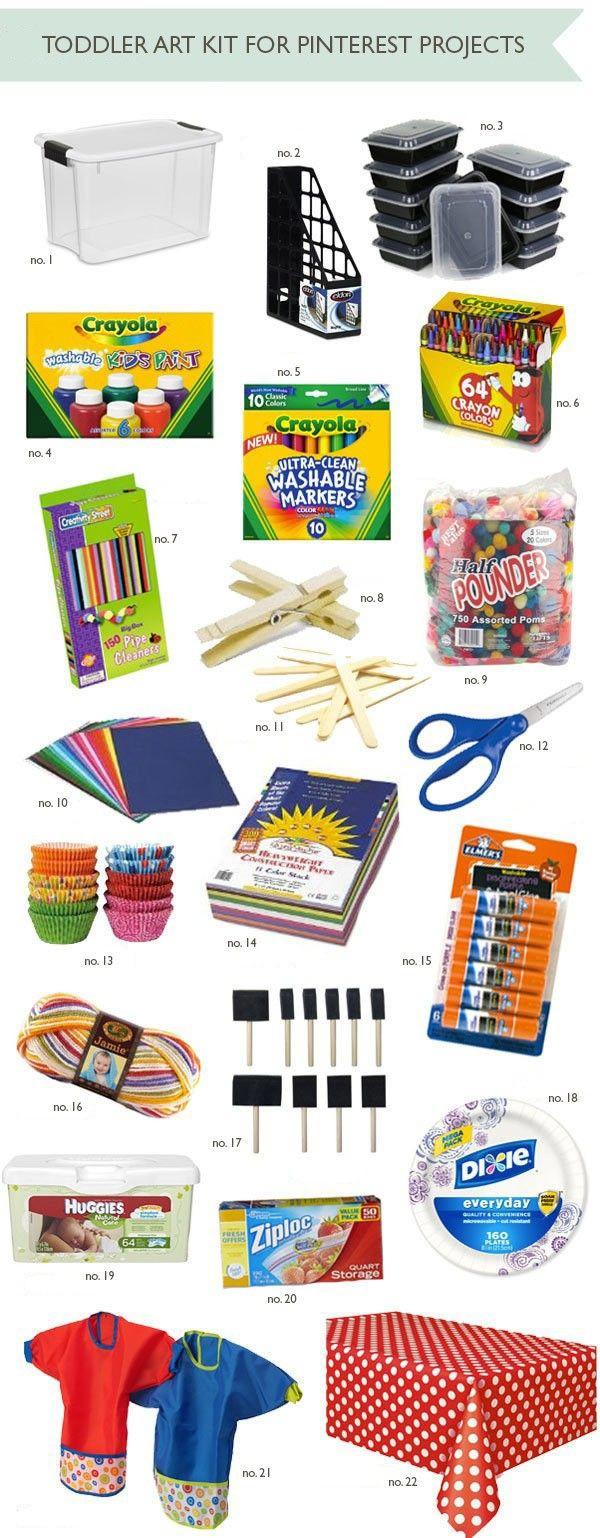 Toddler Craft Supplies  25 best ideas about Preschool Supplies on Pinterest