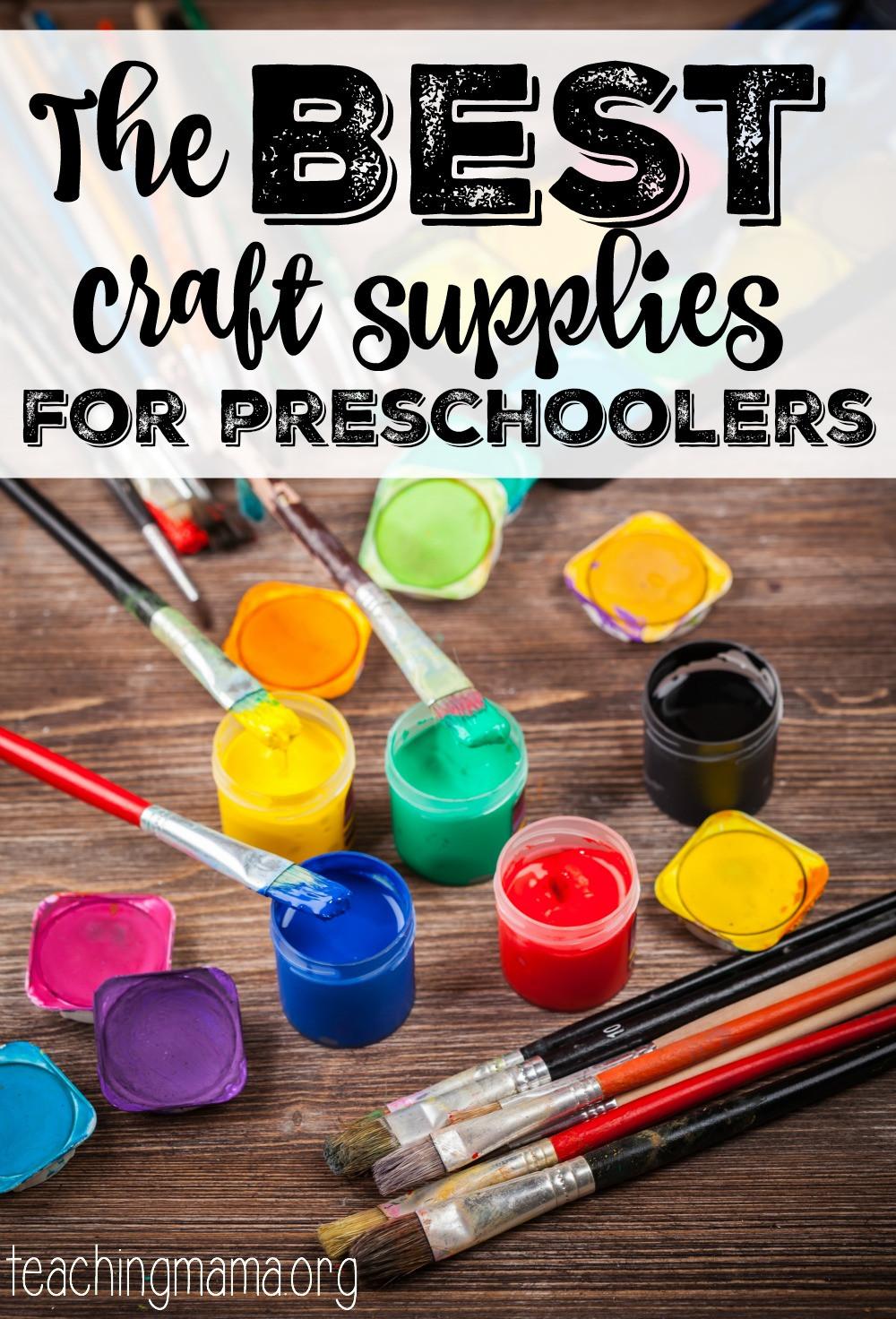 Toddler Craft Supplies  The Best Craft Supplies for Preschoolers Teaching Mama