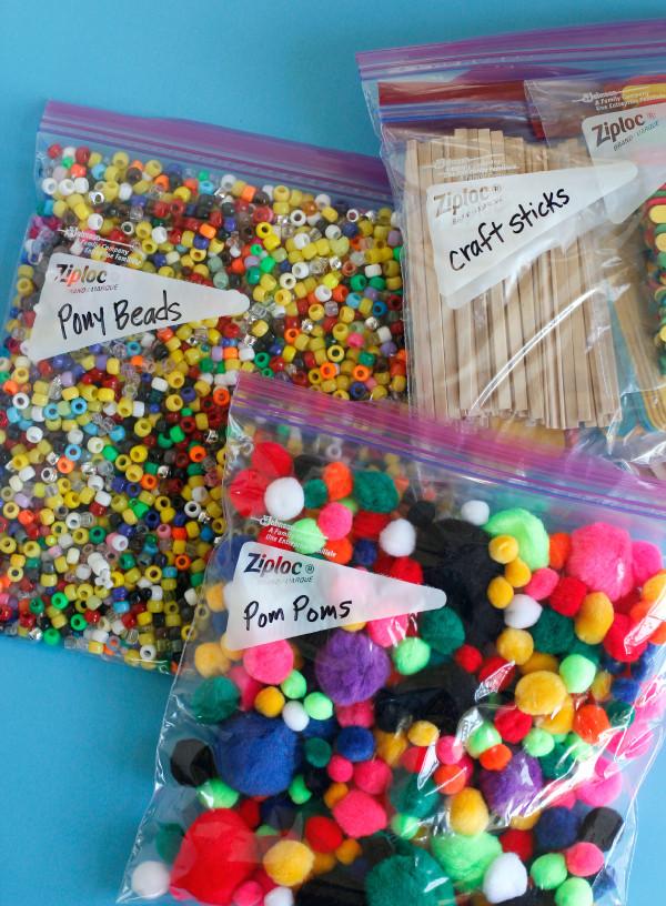 Toddler Craft Supplies  Organizing Kids Craft Supplies