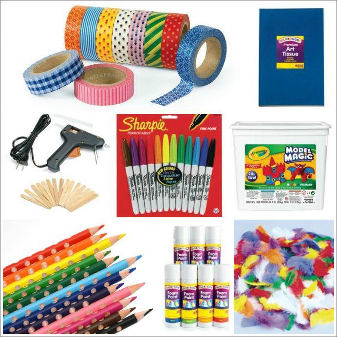 Toddler Craft Supplies  The 25 Best Kids Art Materials Kids art