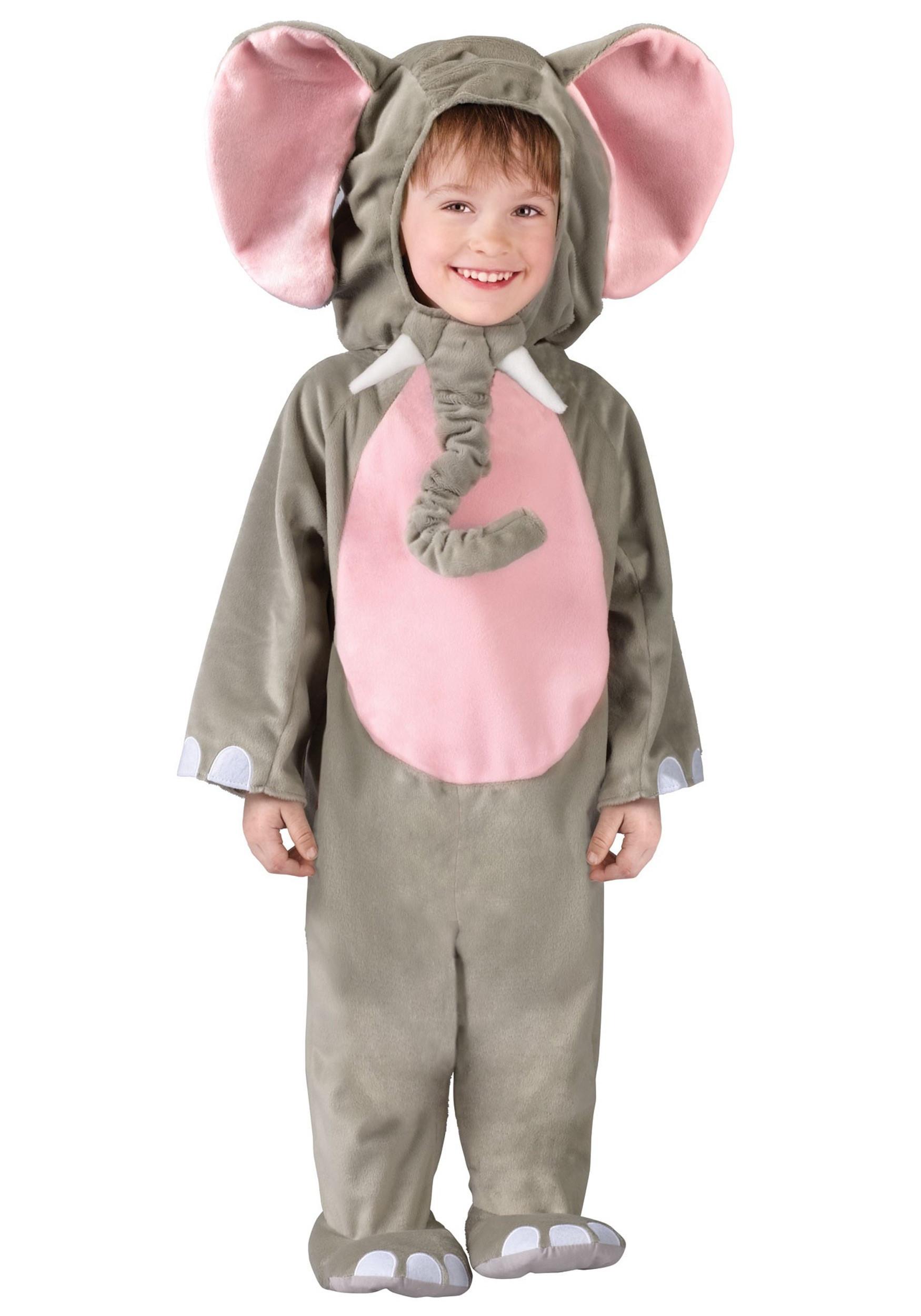Toddler DIY Costumes  Toddler Elephant Costume