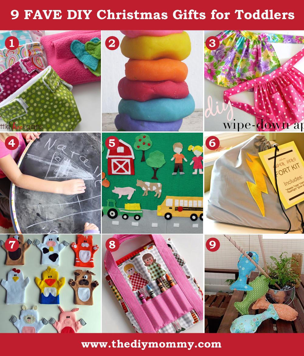Toddler Made Christmas Gifts  A Handmade Christmas DIY Toddler Gifts