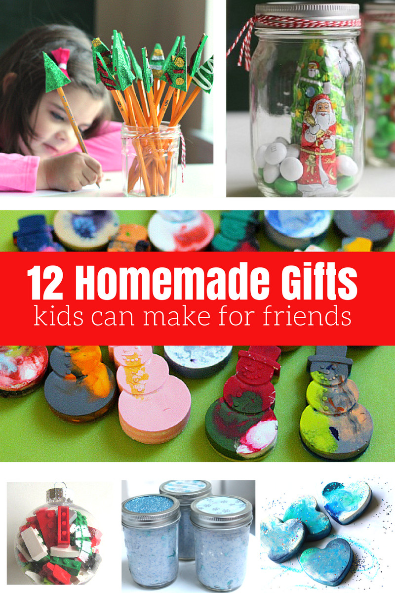 Toddler Made Christmas Gifts  12 Homemade Gifts Kids Can Help Make For Friends and