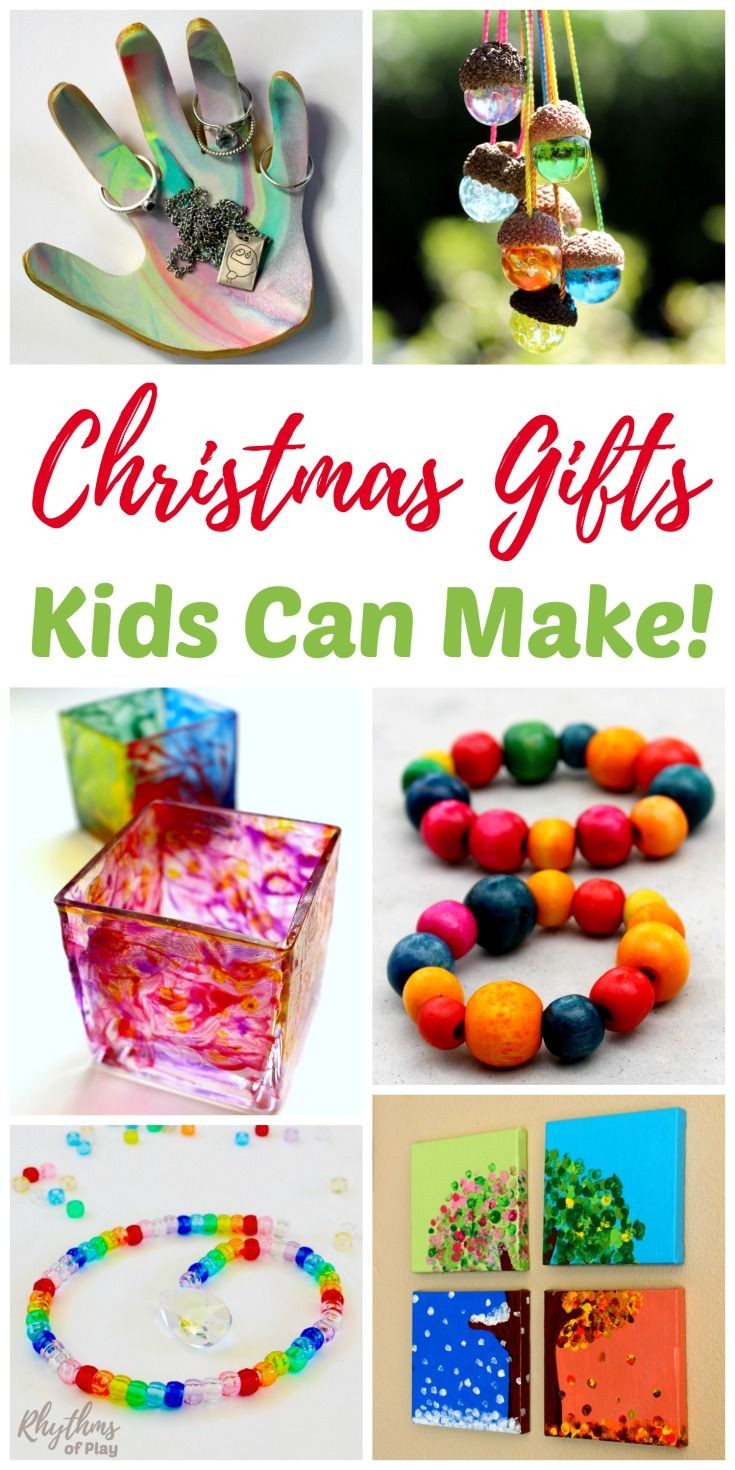 Toddler Made Christmas Gifts  Unique Handmade Gifts Kids Can Make