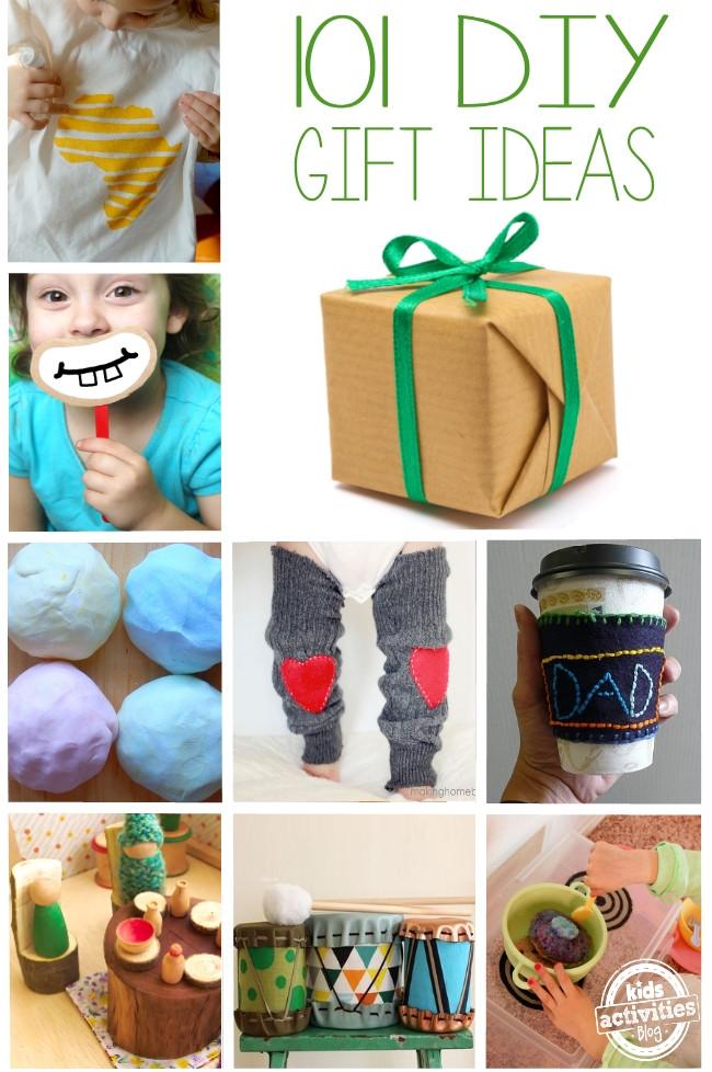 Toddler Made Christmas Gifts  DIY