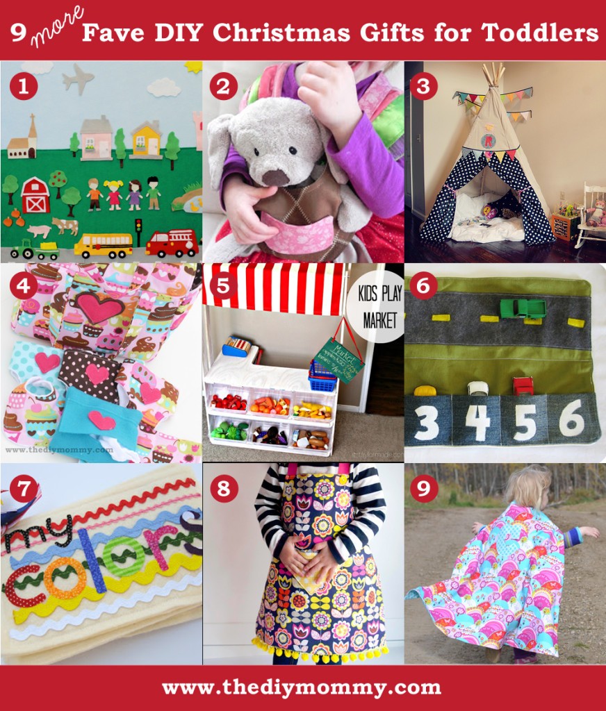 Toddler Made Christmas Gifts  A Handmade Christmas More DIY Toddler Gifts