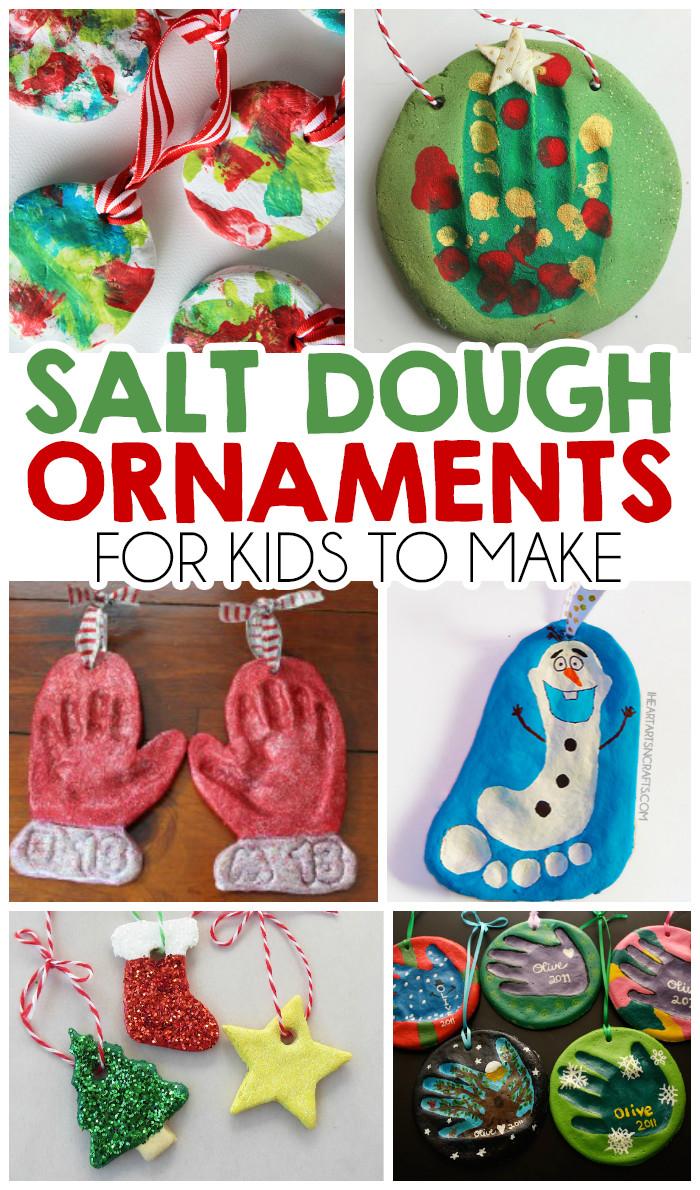 Toddler Made Christmas Gifts  27 Christmas Salt Dough Ornaments For Kids I Heart Arts