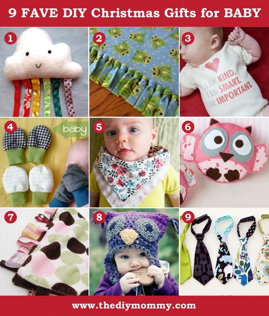 Toddler Made Christmas Gifts  A Handmade Christmas DIY Baby Gifts
