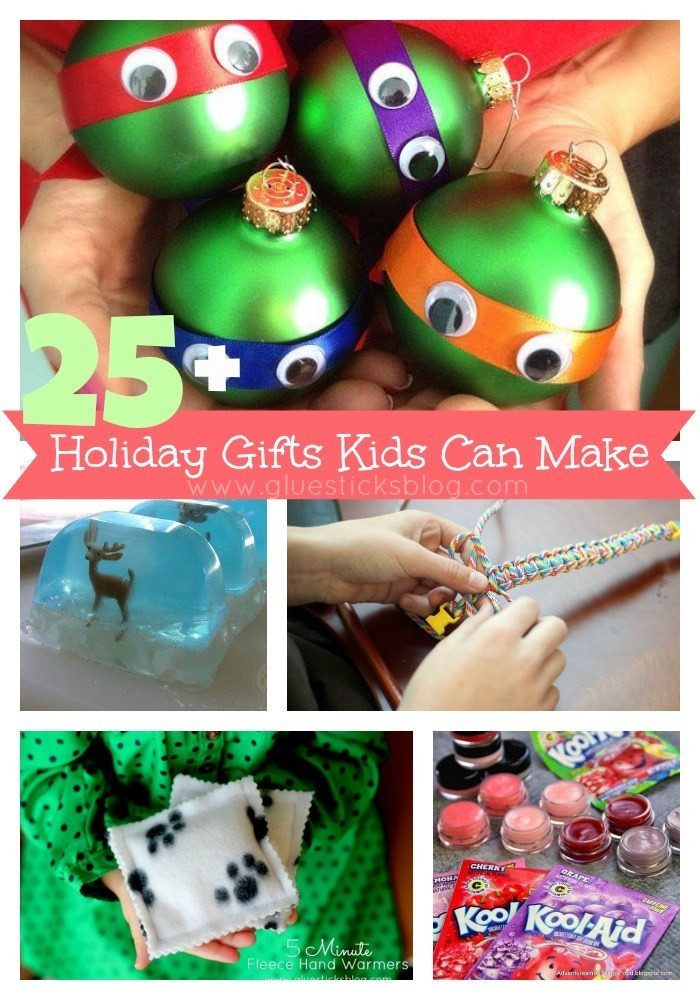Toddler Made Christmas Gifts  Holiday Gifts Kids Can Make