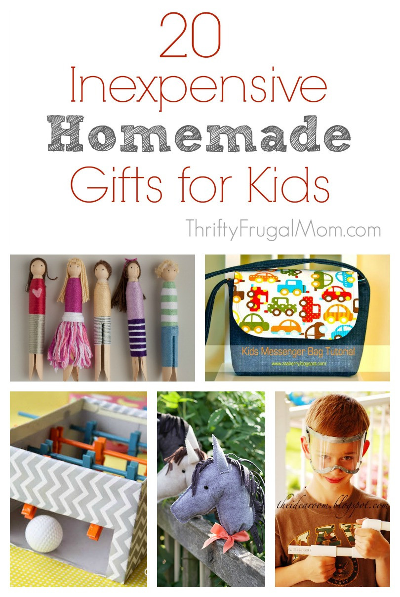 Toddler Made Christmas Gifts  20 Inexpensive Homemade Gift Ideas for Kids