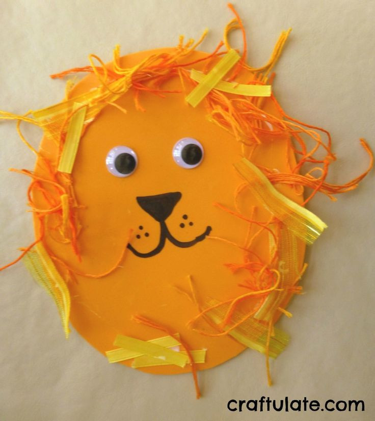 Toddlers Arts And Crafts Ideas  1000 ideas about Lion Craft on Pinterest