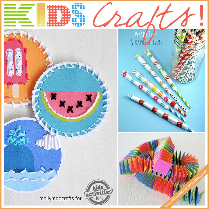 Toddlers Arts And Crafts Ideas  Kids Crafts and Activities The 36th AVENUE