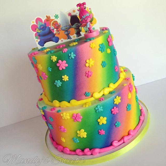 Trolls Birthday Cake Ideas  25 best ideas about Trolls Cakes on Pinterest