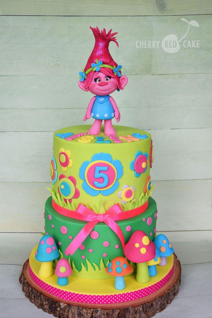 Trolls Birthday Cake Ideas  Best 25 Poppy cake ideas only on Pinterest