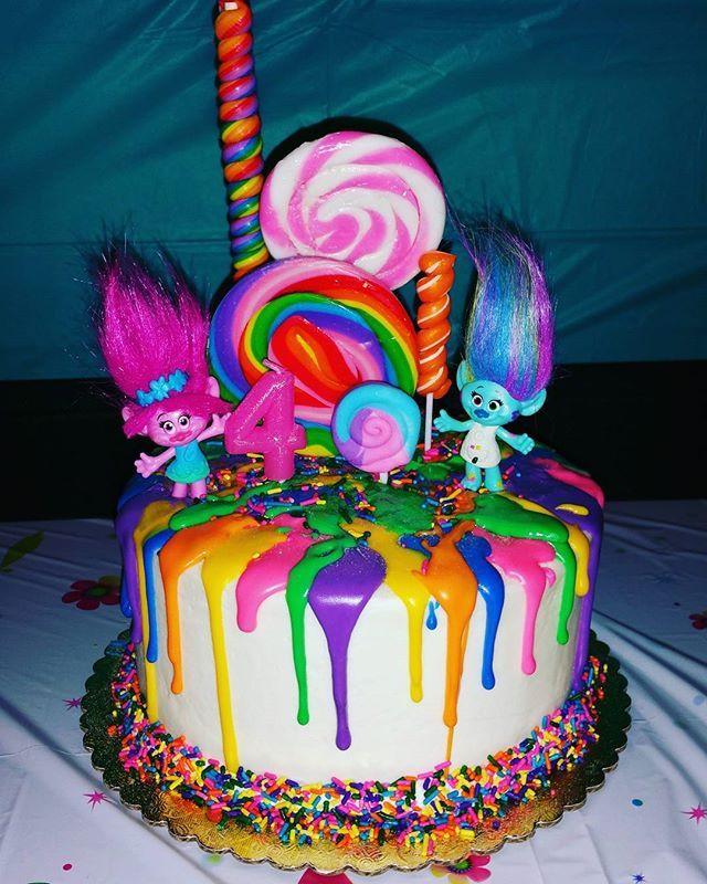 Trolls Birthday Cake Ideas  The 25 best Trolls cake birthday ideas on Pinterest
