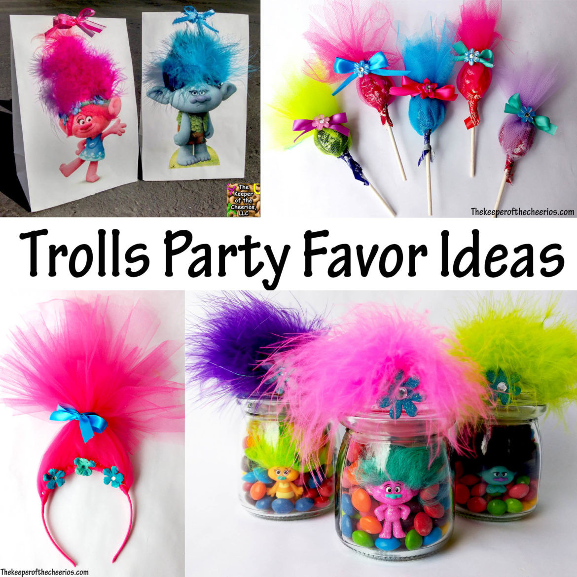 Trolls Party Favor Ideas  Trolls Party Favor Ideas The Keeper of the Cheerios