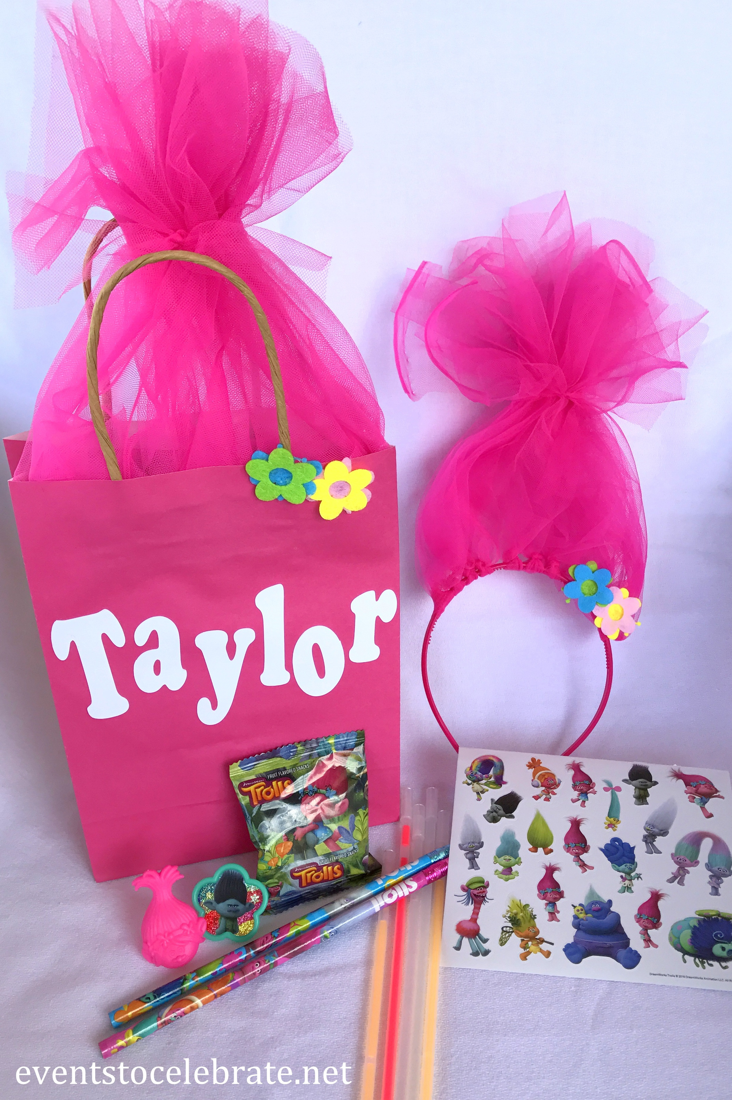 Trolls Party Favor Ideas  Trolls Birthday Party Ideas events to CELEBRATE