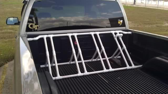 Truck Bed Bike Rack DIY  Best 25 Truck bed bike rack ideas on Pinterest