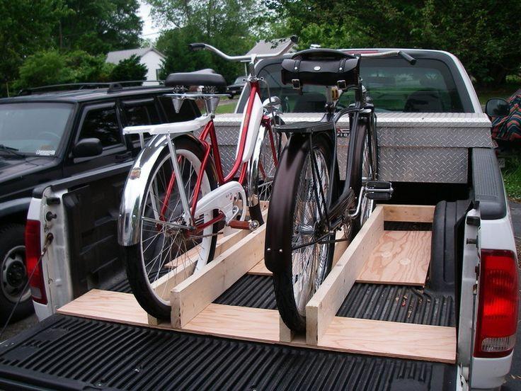Truck Bed Bike Rack DIY  1000 ideas about Truck Bed Bike Rack on Pinterest