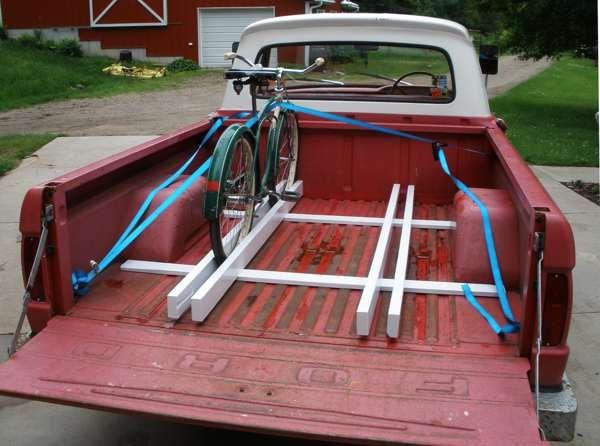 Truck Bed Bike Rack DIY  DIY bike rack for truck bed Google Search
