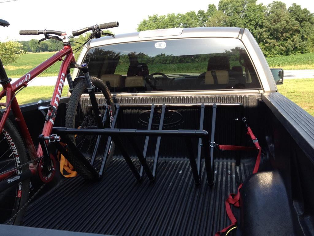 Truck Bed Bike Rack DIY  Pin by Socheat Soy on Transportation