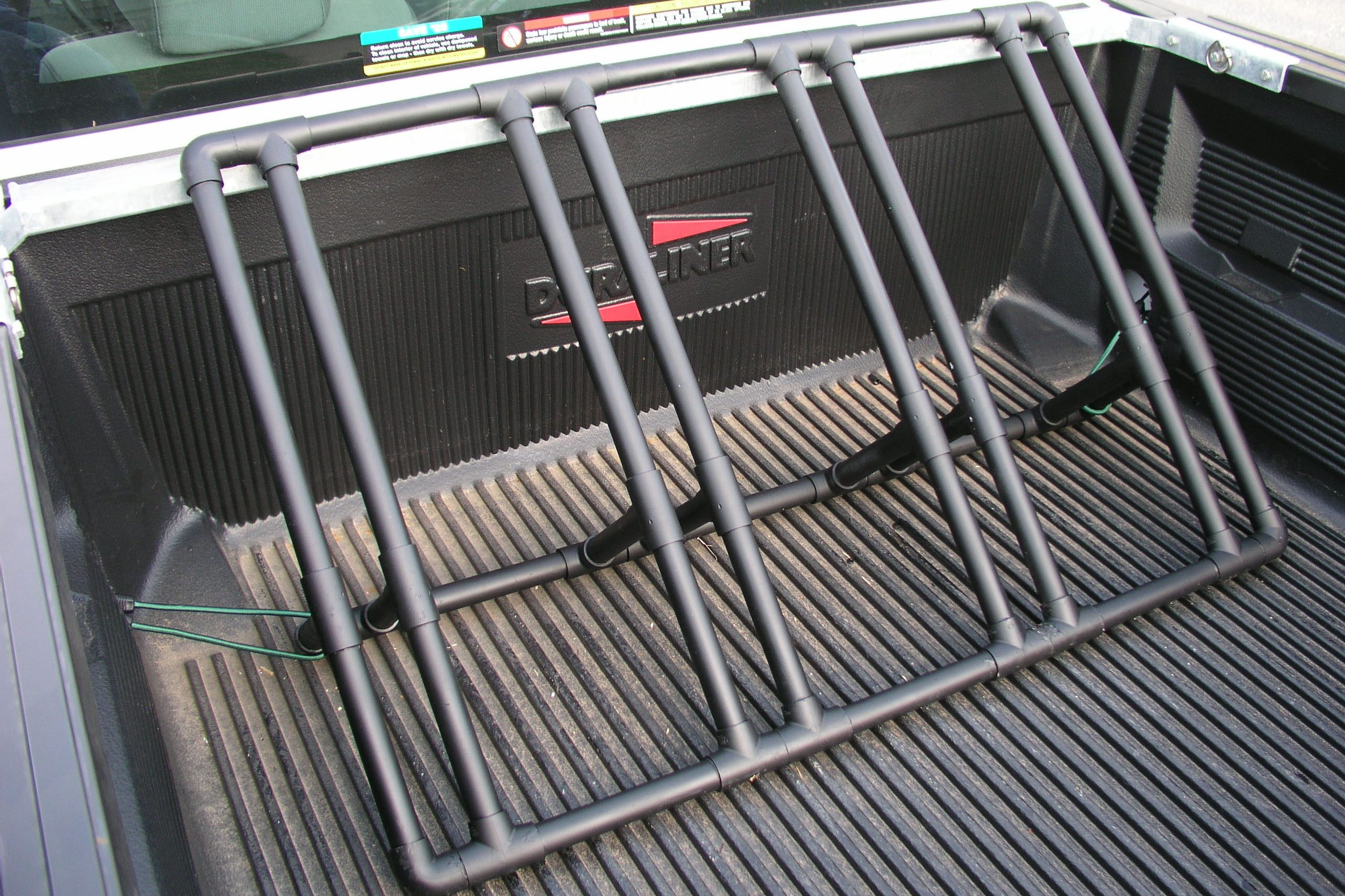 Truck Bed Bike Rack DIY  How to Build a Bike Rack for a Pickup Truck with