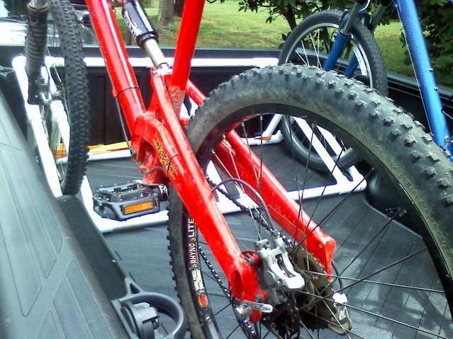 Truck Bed Bike Rack DIY  DIY truck bed bike rack