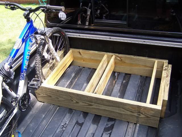 Truck Bed Bike Rack DIY  25 best ideas about Truck Bed Bike Rack on Pinterest