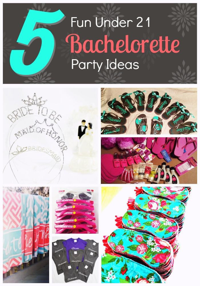 Under 21 Bachelorette Party Ideas  This is a list of five 5 fun bachelorette party ideas