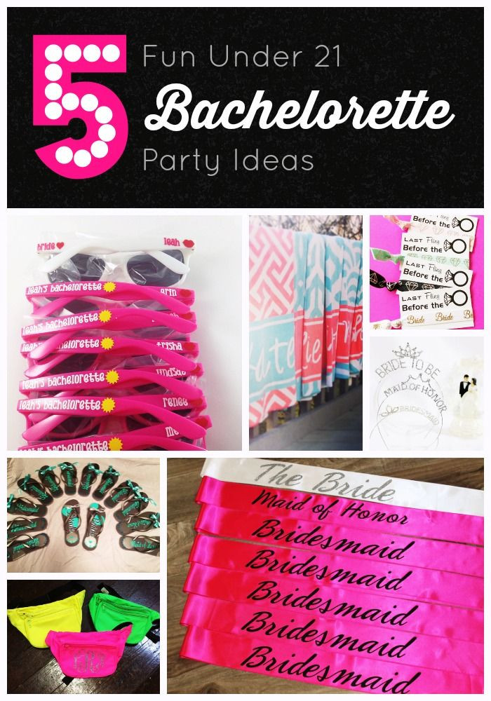 Under 21 Bachelorette Party Ideas  17 Best images about Our Blog on Pinterest