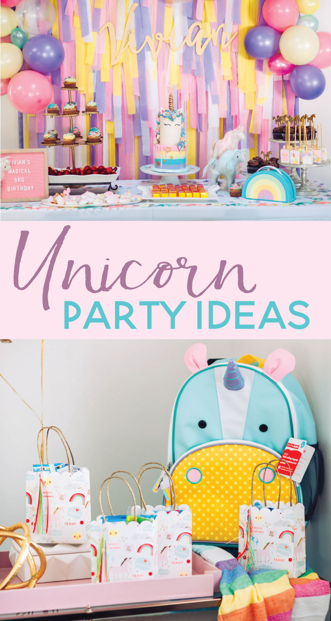 Unicorn Ideas For Party  Magical Unicorn Birthday Party Parties