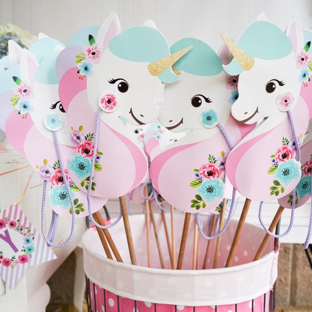 Unicorn Ideas For Party  20 magical unicorn birthday party ideas