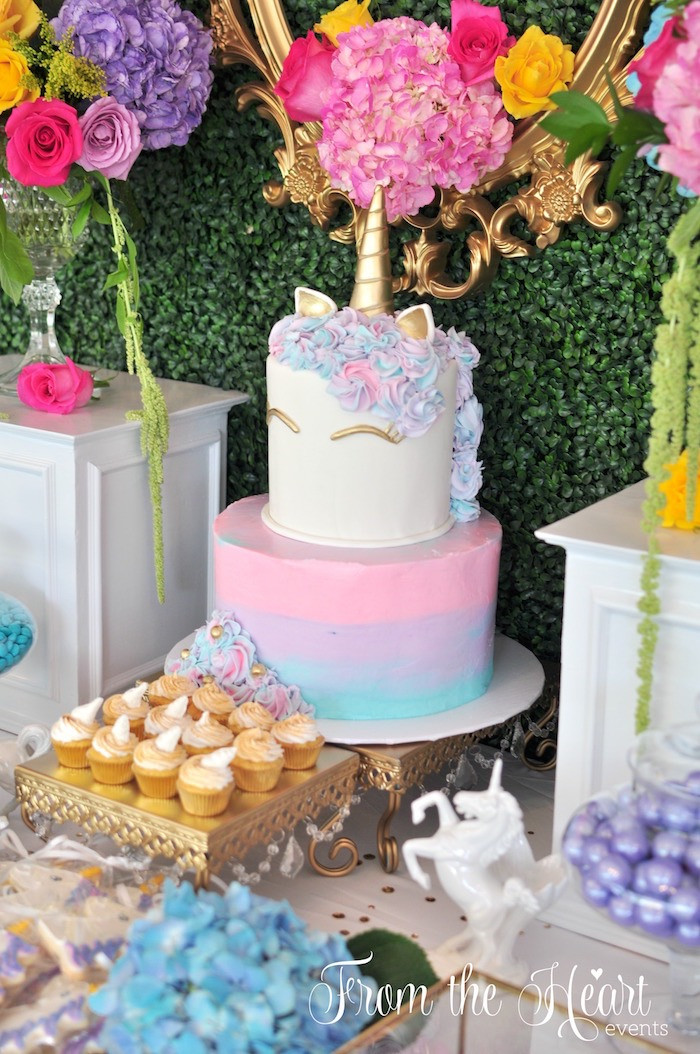 Unicorn Ideas For Party  Kara s Party Ideas Vibrant Unicorn Birthday Party