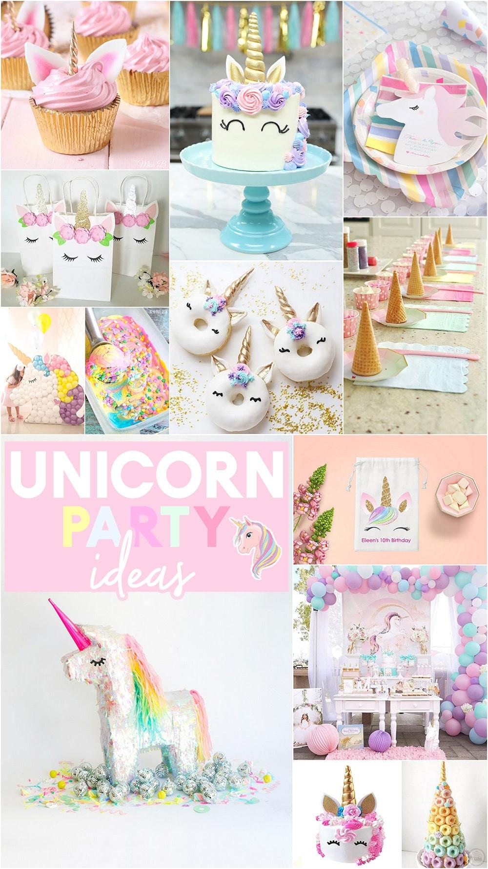 Unicorn Ideas For Party  27 Magical Unicorn Party Ideas