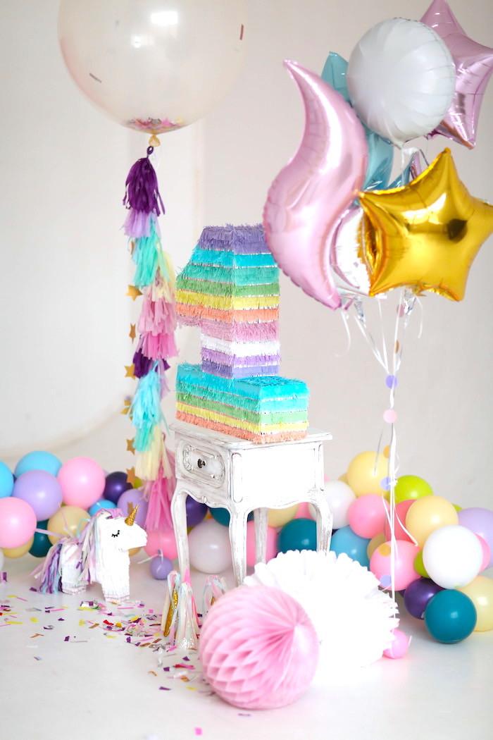 Unicorn Ideas For Party  Kara s Party Ideas Sweet Pastel Unicorn Birthday Party